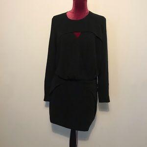 Iro cutout Draped mini dress